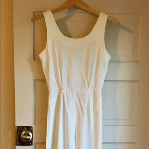 Vintage white jumpsuit